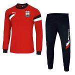 M2Sport Errea Joma teamwear sportskits training top Forward red Bridge Utd