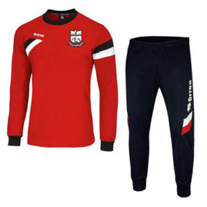 M2Sport Errea Joma teamwear sportskits training top Forward red Bridge Utd