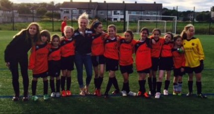 Corrib Rangers U-10 girls