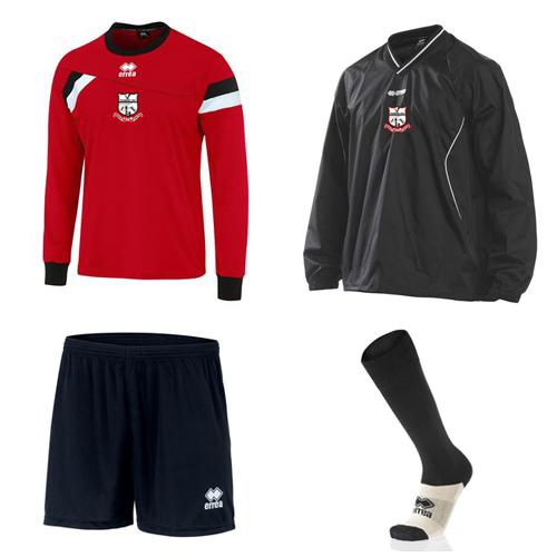 Errea-m2sport-bridge utd-sportswear-sports kits-rain pullover-jersey