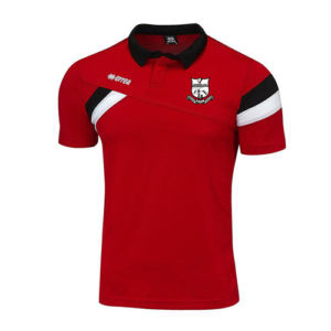 M2Sport errea teamwear sportswear leisurewear-Force red