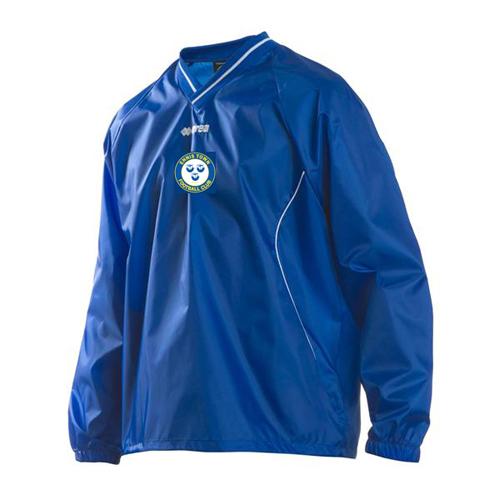 ottawa rain pullover-errea-ennis town-m2sport-sportswear-teamwear-training top-