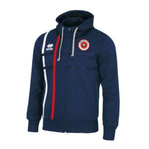Maddi-zipped hoodie