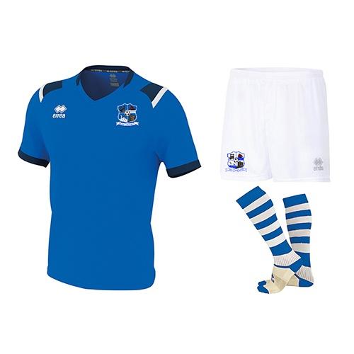 COMBO 1-Lucas jersey + New Skin Shorts + Poly Socks-Maree Oranmore Fc-ERREA-M2Sport