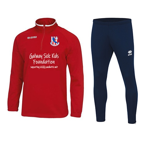 Mansell 1-4 zip Galway sick foundation + Key skinny pants-Knocknacarra FC-ERREA-M2Sport