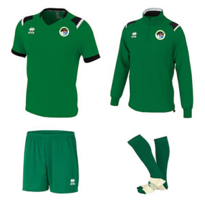 Combo 2- LARS 1-4 Zip+LUCAS Set+Zone Socks-MULLINGAR Athletic-ERREA-M2Sport