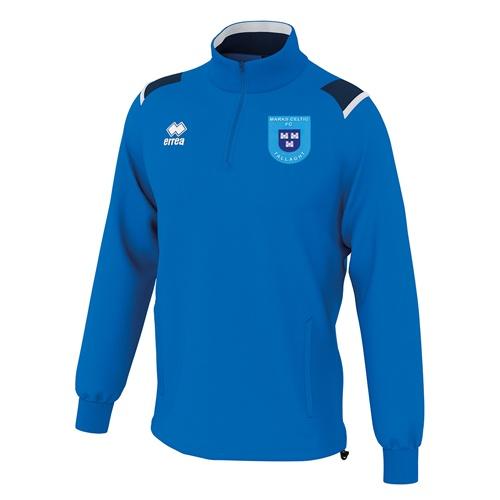 LARS 1-4 zip blue-Marks Celtic fc-ERREA-M2Sport