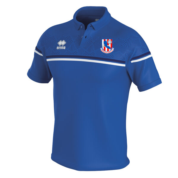 DOMINIC Polo blue-Knocknacarra FC-ERREA-M2Sport