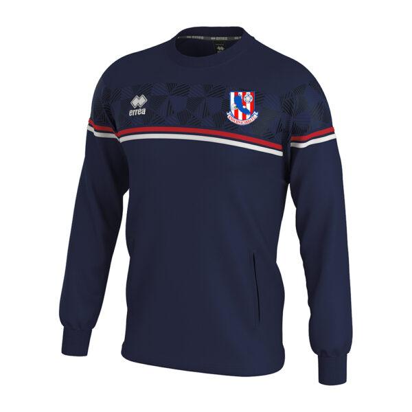 Davis sweatshirt navy-Knocknacarra FC-ERREA-M2Sport