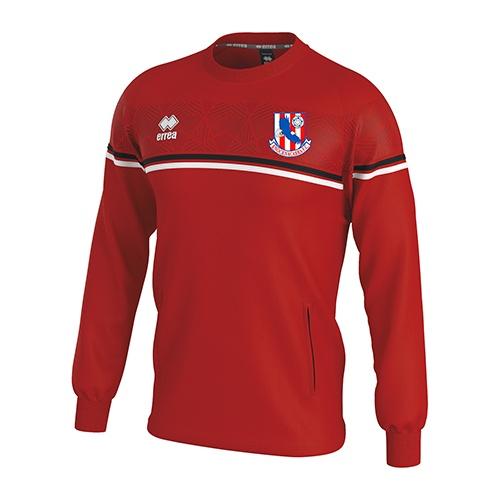 Davis sweatshirt red-Knocknacarra FC-ERREA-M2Spor