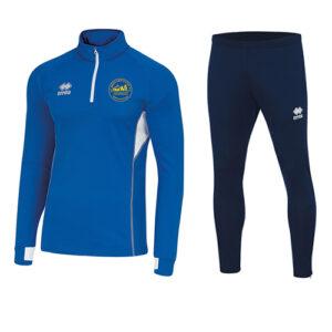Fartlek 1/4 zip pro + Flan Skinny-St Bernards-ERREA-M2Sport