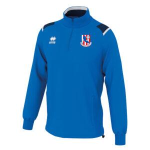 LARS 1-4 zip blue-Knocknacarra FC-ERREA-M2Sport
