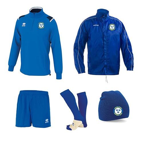 Ennis Town FC-ERREA-M2Sport-academy combo
