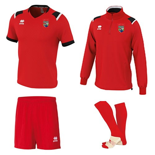 COMBO 2-Lars 1-4 zip + Lucas Set-Ballinrobe Town FC-ERREA-M2Sport