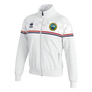 DONOVAN tracksuit top white-rBallymackey FC-ERREA-M2Sport