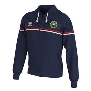 DRAGOS zip hoodie navy-Ballymackey Fc-ERREA-M2Sport