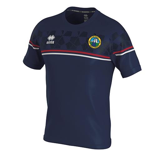 Diamantis t-shirt navy-Ballymackey Fc-ERREA-M2Sport