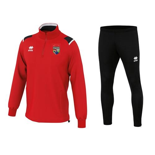 LARS 1-4 zip + Flan skinny-Ballinrobe Town FC-ERREA-M2Sport