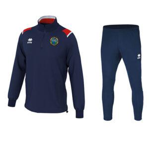 LARS 1-4 zip + Flann pants-Ballymackey Fc-ERREA-M2Sport Ltd