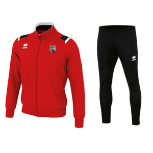 LOU tracksuit top + Flan skinny-Ballinrobe Town FC-ERREA-M2Sport