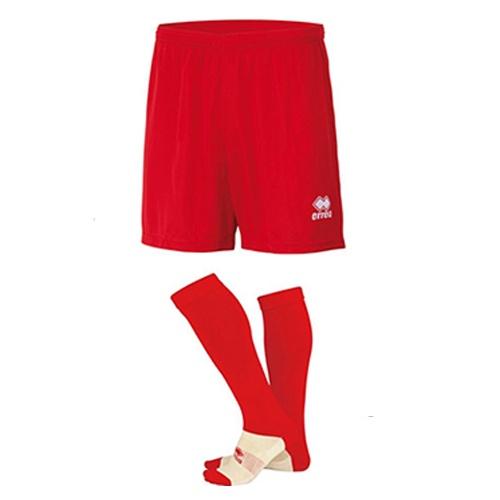 NEW SKIN Shorts + POLY socks-Ballinrobe Town FC-ERREA-M2Sport